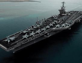 Tướng Hải quân Mỹ thị sát tàu sân bay ở Biển Đông