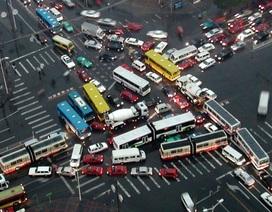 Bắc Kinh lún xuống 11 cm mỗi năm
