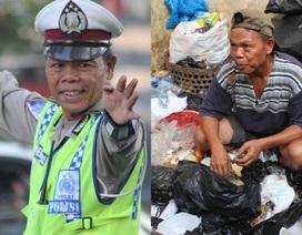 Indonesia tôn vinh cảnh sát thà nhặt rác chứ không nhận hối lộ