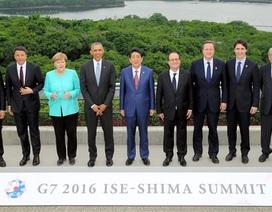G7 sẽ yêu cầu Trung Quốc tuân thủ phán quyết vụ kiện Biển Đông