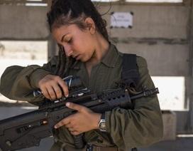 """Vẻ đẹp trong chiến đấu của những """"bông hồng thép"""" Israel"""