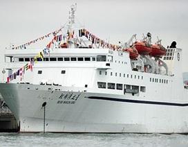 Trung Quốc trắng trợn lập kế hoạch đưa 8 tàu du lịch ra Biển Đông