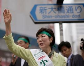 Thủ đô Tokyo có nữ thị trưởng đầu tiên trong lịch sử