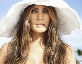 """Cộng đồng mạng """"dậy sóng"""" vì ảnh khỏa thân của vợ tỷ phú Trump"""