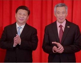 """Vấn đề Biển Đông """"phủ bóng tối"""" lên quan hệ Trung Quốc - Singapore"""