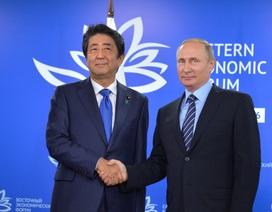 Lãnh đạo Nga - Nhật quyết tâm giải quyết tranh chấp lãnh thổ