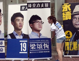 Hong Kong bầu cử hội đồng lập pháp