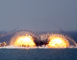Nga phô diễn sức mạnh quân sự trong cuộc tập trận tại Crimea