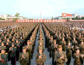Triều Tiên diễu hành rầm rộ mừng thử hạt nhân thành công