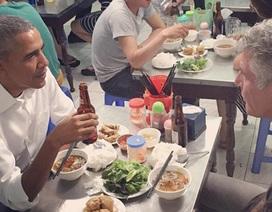 Kịch bản Tổng thống Obama ăn bún chả ở Hà Nội được giữ bí mật trong suốt một năm