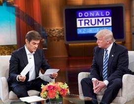 Tỷ phú Trump thừa nhận nghiện đồ ăn nhanh và lười tập thể dục