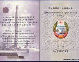 Bên trong cuốn hộ chiếu của Triều Tiên