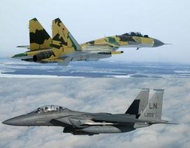 """""""Đọ sức"""" máy bay chiến đấu hàng đầu Nga - Mỹ"""