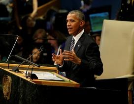 Tổng thống Obama ngầm chỉ trích Donald Trump tại Liên Hợp Quốc
