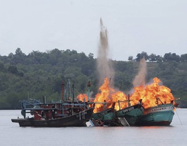 Indonesia bắt hai tàu cá Trung Quốc đánh bắt trái phép