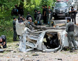 Nổ bom ở Thái Lan, 3 cảnh sát thiệt mạng