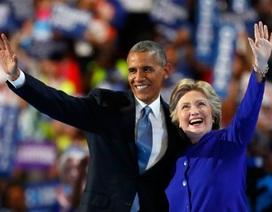 Tổng thống Obama tiếp sức cho bà Clinton trước giờ G