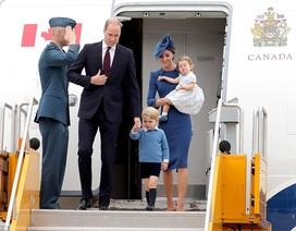Hoàng tử Anh lần đầu tiên đưa hai con công du nước ngoài