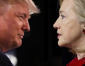 """Nước Mỹ """"nóng"""" trước cuộc so găng đầu tiên giữa hai ứng viên tổng thống"""