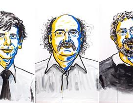 3 nhà khoa học người Anh giành giải Nobel Vật lý 2016