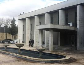 Đại sứ quán Nga tại Syria trúng đạn cối