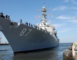 Tàu chiến Mỹ bị tên lửa từ Yemen tấn công
