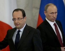 Tổng thống Hollande nói chưa chắc chắn về việc đón tiếp ông Putin tại Pháp