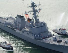 Tàu chiến Mỹ lại suýt bị trúng tên lửa ở gần Biển Đỏ