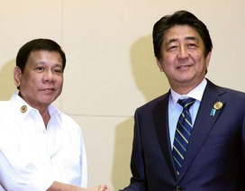 """Nhật Bản muốn """"giữ chân"""" Philippines trong vấn đề Biển Đông"""