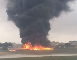 Máy bay chở quan chức EU gặp nạn, 5 người chết