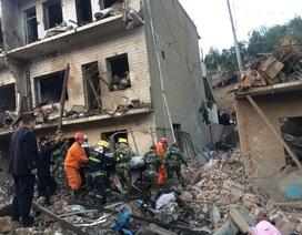 Nổ lớn gây sập nhà ở Trung Quốc, 14 người chết