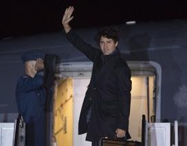 Máy bay chở thủ tướng Canada quay đầu vì gặp sự cố trên không