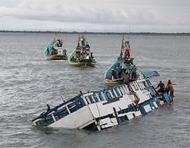 Đắm tàu ở Indonesia, 20 người chết