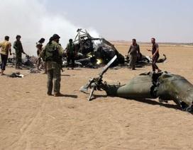 Trực thăng Nga bị bắn rơi ở Syria