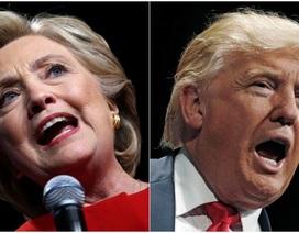 Bà Clinton dẫn trước ông Trump trong thăm dò dư luận trước thềm bầu cử