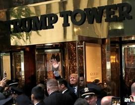 Bên trong Tháp Trump sau bầu cử tổng thống Mỹ