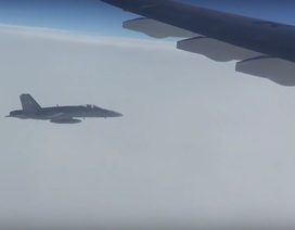 3 chiến đấu cơ Thụy Sỹ áp sát máy bay chở nhà báo Nga dự APEC