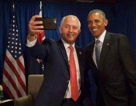 """Thủ tướng Australia chụp ảnh """"tự sướng"""" chia tay Tổng thống Obama"""