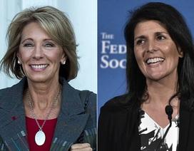 Những phụ nữ đầu tiên trong nội các của ông Trump