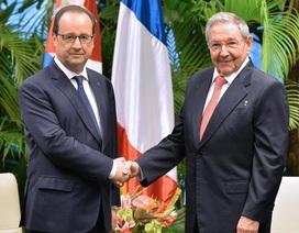Tổng thống Pháp kêu gọi gỡ bỏ lệnh cấm vận Cuba