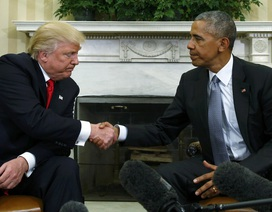 Tổng thống Obama dành lời khuyên cho người kế nhiệm Donald Trump