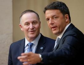 Thủ tướng Italy, New Zealand bất ngờ tuyên bố từ chức