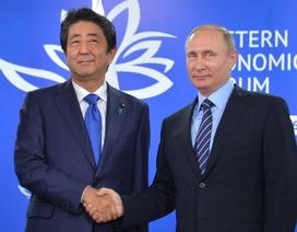 Tổng thống Putin để ngỏ khả năng giải quyết tranh chấp kéo dài 70 năm với Nhật Bản