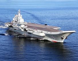 Trung Quốc điều tàu sân bay duy nhất diễn tập bắn đạn thật