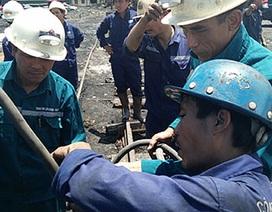 Vụ bục nước lò than: Mở lối thông tới vị trí nghi công nhân mắc kẹt