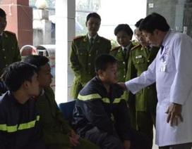 Vụ cháy container hóa chất: Hơn 50 cảnh sát PCCC nhập viện