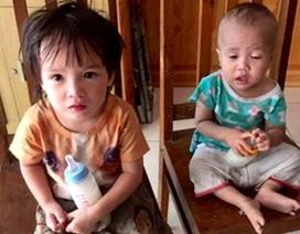 Hai cháu bé bị bỏ rơi tại cổng công an TP.Hải Phòng