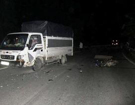Quảng Bình: Tông vào xe tải, 2 người thương vong