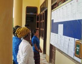 Quảng Bình có 13 khu vực bầu cử sớm