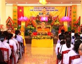 Quảng Bình: Đại lễ Phật đản hướng về ngày bầu cử và chia sẻ khó khăn cùng ngư dân
